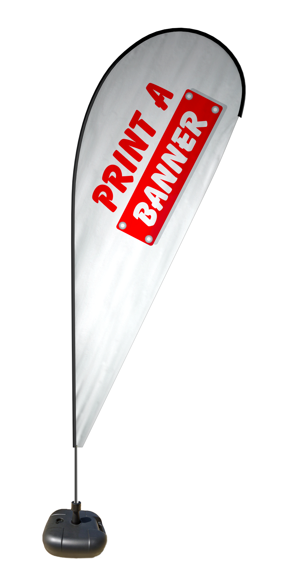 Tear Drop Flags for Advertising and Promotions