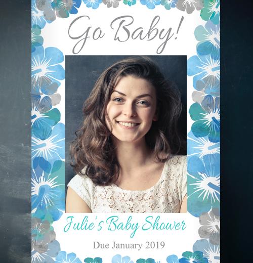 Baby Shower Selfie Frames