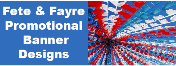 Custom Fayre and Fete Banners