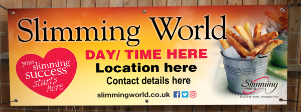 Custom Slimming World Banners
