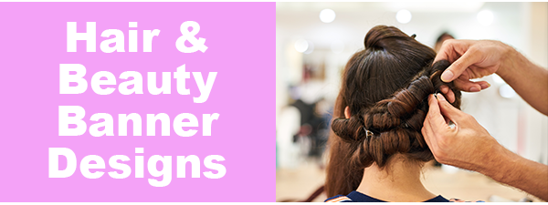 Custom Hair & Beauty Banners