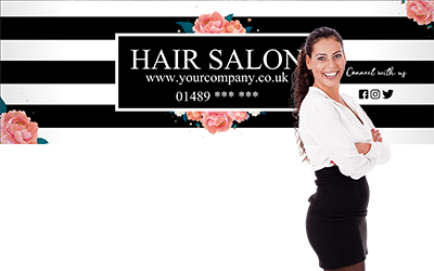 Hair and Beauty Banners