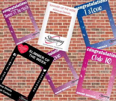 Slimming World Selfie Frames