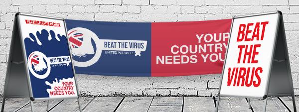 Custom Coronavirus Posters