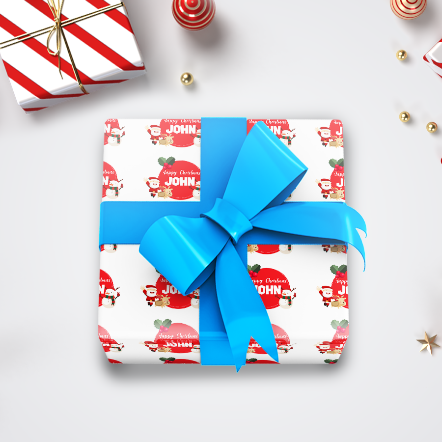 Christmas Wrapping Paper 1