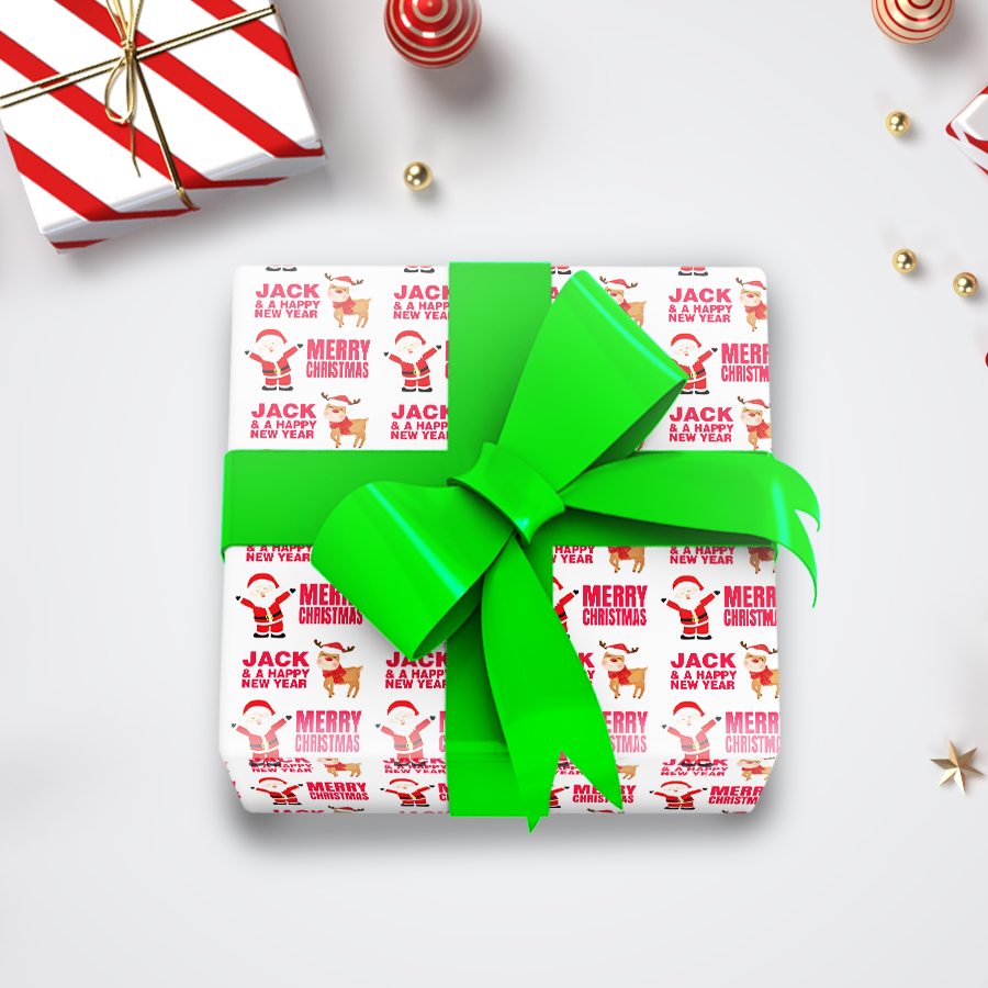 Christmas Wrapping Paper 4