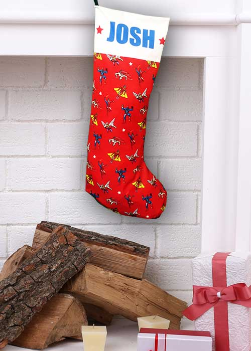 Super Heroes Stocking