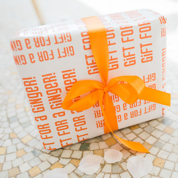 Ginger Gift Wrap