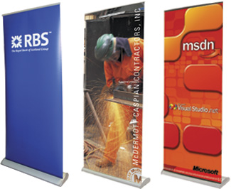 Roll-Up Exhibition and Advertising Roller Banners